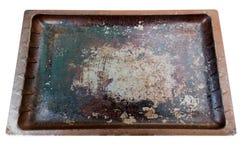Используемый печь поднос Стоковые Изображения