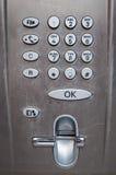 используемый payphone пульта управления Стоковые Изображения