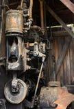 Использующий энергию пар ворот внутри крана на внешнем музее в Аляске Стоковая Фотография RF