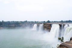 Исполинские водопады Chitrakoot, центральная Индия Стоковое Фото