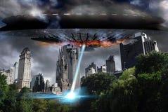 Нападение чужеземца Стоковое фото RF