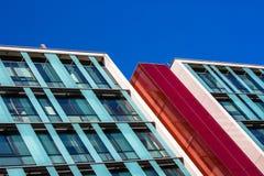 2 исполинских стеклянных здания граниченного совместно Стоковая Фотография