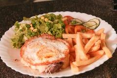 Исполнительная еда Стоковое Фото