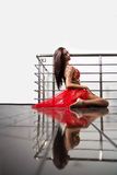 Исполнительница танца живота Стоковое Фото