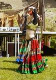 Исполнительницы танца живота Стоковая Фотография