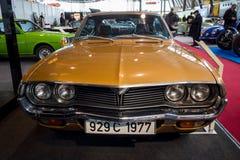 Исполнительный автомобиль Mazda 929 Coupe, 1977 Стоковое Изображение RF