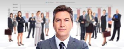 Исполнительный бизнесмен. стоковая фотография rf
