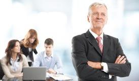Исполнительный портрет бизнесмена Стоковая Фотография RF