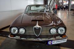 Исполнительный спринт Tipo 106 Romeo 2600 альфы автомобиля, 1962 Стоковые Изображения