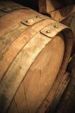 Используемая деталь бочонка вина Стоковые Изображения