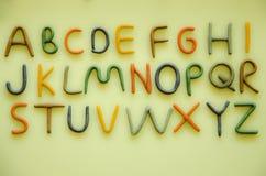 используемая технология принимать изображений фото света замораживания английской языка алфавита была Стоковое Фото