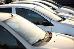 используемые автомобили Стоковые Изображения RF