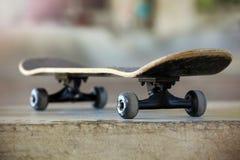 Используемый скейтборд Стоковое Изображение
