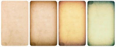 Используемый текстурированный бумажный изолированный картон Стиль Instagram Стоковые Фотографии RF