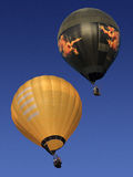 Использующие горячие воздух воздушные шары в Мьянме Стоковые Изображения RF