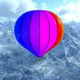 Использующий горячий воздух воздушный шар Стоковые Фотографии RF