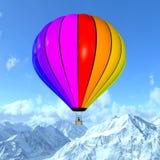 Использующий горячий воздух воздушный шар Стоковые Фото
