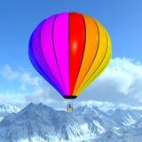 Использующий горячий воздух воздушный шар Стоковое фото RF