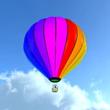 Использующий горячий воздух воздушный шар Стоковая Фотография RF