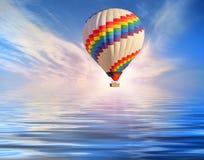 Использующий горячий воздух воздушный шар Стоковые Изображения RF