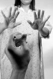испуганная впрыска Стоковое Фото