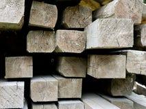 испускает лучи древесина кучи крупного плана Стоковые Фото