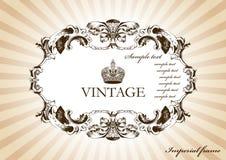 испускает лучи сбор винограда рамок Стоковое Фото