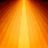испускает лучи свет grunge элементов золотистый Стоковое фото RF