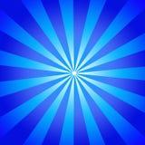 испускает лучи синь Стоковое Фото