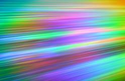 испускает лучи цветастое dvd Стоковые Изображения RF