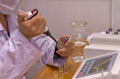 испытание выпарки пестицида Стоковая Фотография