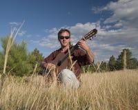 испытание гитары h105 новое Стоковая Фотография