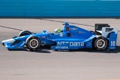 Испытание гоночной машины колеса автомобиля Indy открытое Стоковая Фотография RF