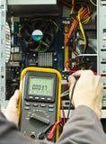 испытание компьютера Стоковая Фотография RF