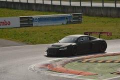 Испытание GT3 2016 Audi R8 LMS ультра на Монце Стоковое Фото