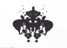 Испытание Rorschach Стоковое Фото