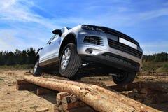 Испытани-привод SUV стоковое изображение