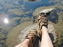 Испытывать воду Стоковая Фотография