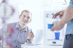 Испытывая современные технологии печатания Стоковое Изображение RF