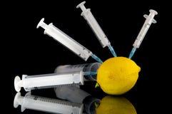 исследование лимона стоковые фото