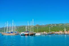 Исследуйте залива Kekova, Турции стоковые фотографии rf