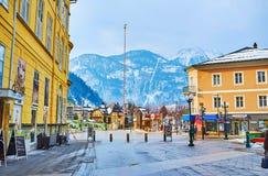 Исследуйте старое плохое Ischl, Salzkammergut, Австрию стоковое изображение rf