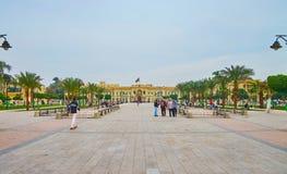 Исследуйте центр города в Каире, Египте стоковое фото rf