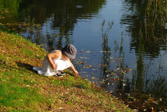 исследуя белизна юбки природы n стоковое фото