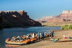 Исследуя гранд-каньон Стоковая Фотография RF