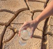 Иссушанные почва и вода III стоковое изображение rf