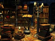 Исследование волшебника Стоковые Изображения