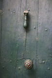 Исследование старой деревянной двери Стоковые Изображения