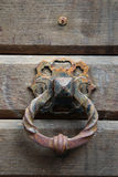 Исследование старой деревянной двери Стоковое Изображение