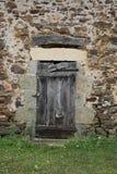 Исследование старой деревянной двери Стоковая Фотография RF